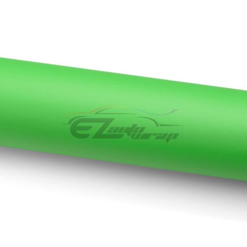"*60/""x120/"" Matte Flat Green Car Vinyl Wrap Sticker Decal Air Release Bubble Free"
