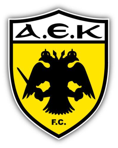 AEK FC Athens Soccer Football Car Bumper Sticker Decal 4/'/' x 5/'/'