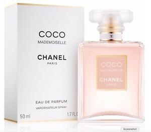 Chanel Coco Mademoiselle 50ml Edp Spray Perfume Women Cod Paypal