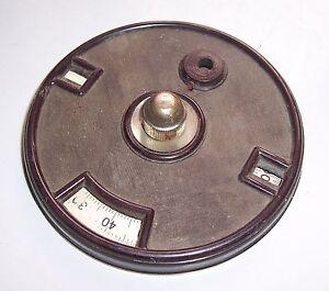 Alte-Radio-Skala-aus-Bakelit-Volksempfaenger-vor-1945-Ersatzteil