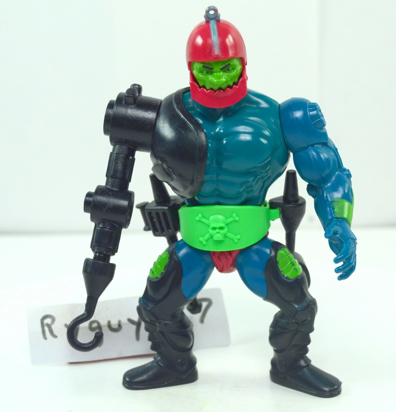 MOTU, Trap Jaw, Mexico, Masters of the Universe, figure, 100% complete, He Man