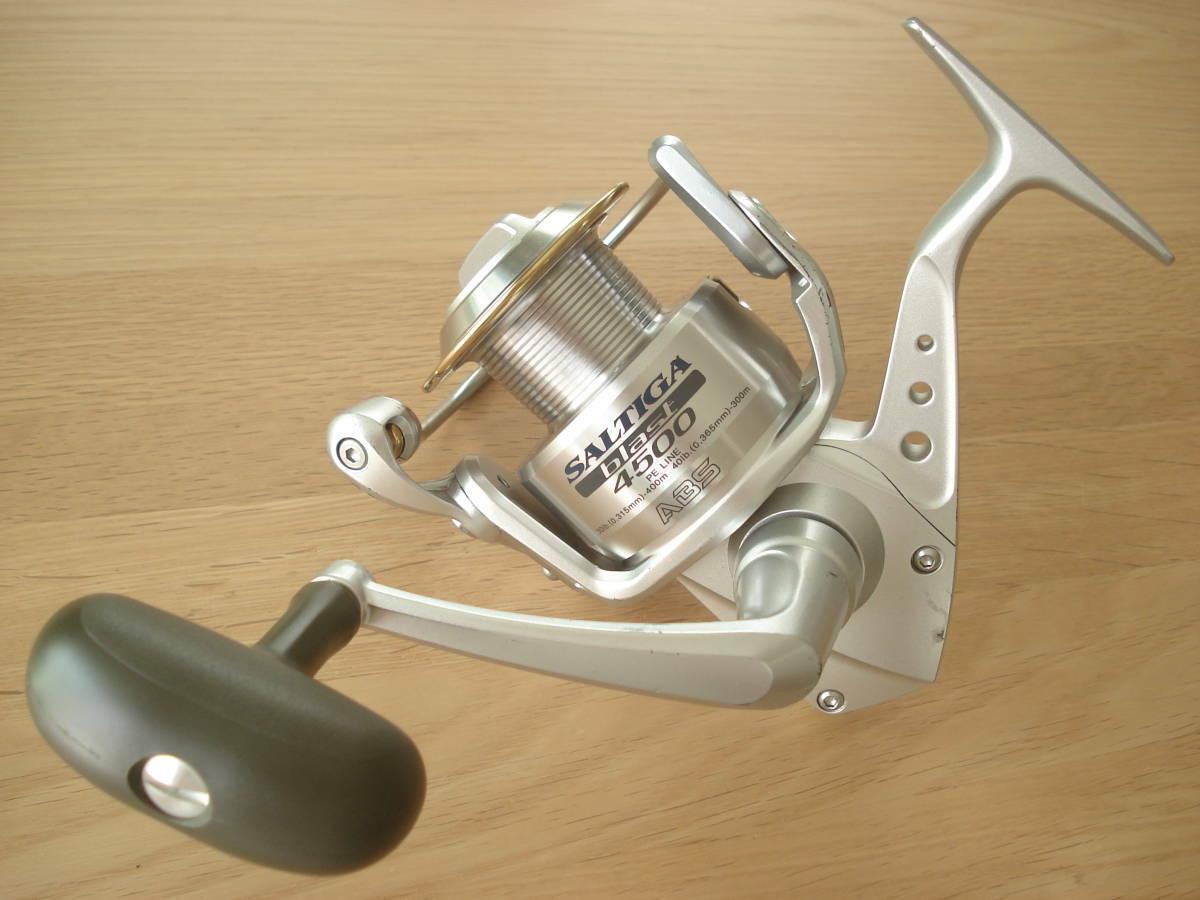 Daiwa Saltiga Blast 4500 utiliza Spinning Cocheretes Japón