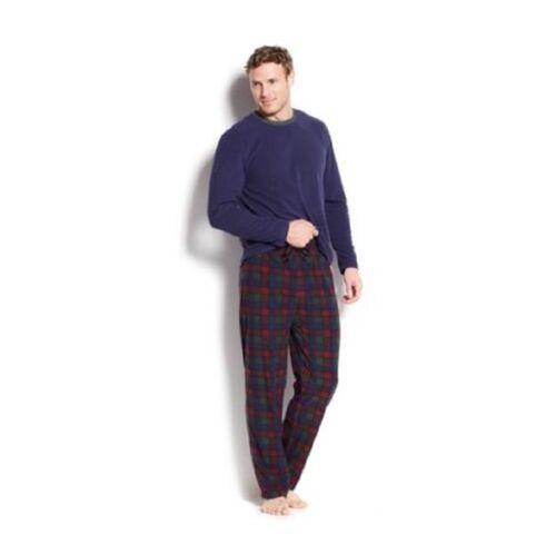 Club Room Fleece Pajama 2 Piece Set Size Medium
