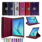 Tasche für Samsung Galaxy Tab A 9.7 T550 555 360º Tablet Schutz Hülle Case+Folie