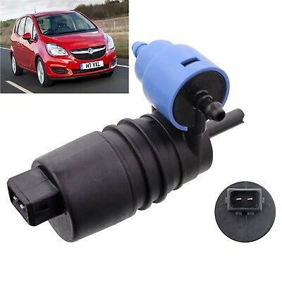 Front /& Rear Windscreen Washer Pump Vauxhall Corsa 2006 2007 2008 2009 2010 etc