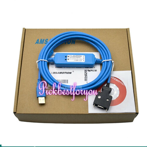NEW For yaskawa Σ-II//Σ-III USB-JZSP-CMS02 Servo Debug Cable  #H152D YD