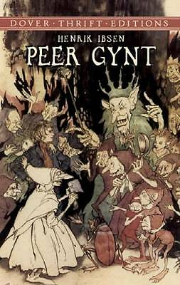 1 of 1 - Peer Gynt (Dover Thrift Editions) by Ibsen, Henrik | Paperback Book | 9780486426