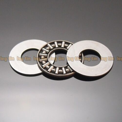 1 pc AXK1226 12x26 Needle Roller Thrust Bearing complete with 2 AS washers