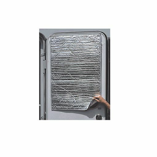 Camco Reflective Door Cover for RV / Camper / Trailer / Motorhome