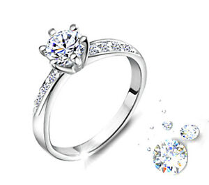 Zauberhafter Ring Damenring Verlobungsring 925 Silber Mit Swarovski
