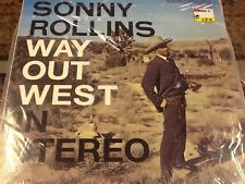 SONNY ROLLINS Way Out West 180 Gram OUT OF PRINT RARE STEREO S7017 Sealed LP