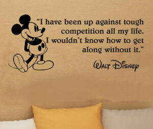 """Disney Mickey Mouse I HAVE BEEN UP wall quote vinyl wall art decal sticker 35/"""" W"""