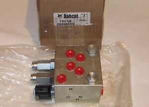 Details about Genuine Bobcat Hydraulic Control Valve 7010128
