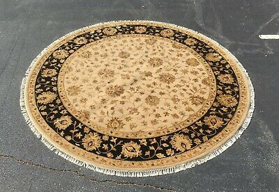 New 8ft Round Handmade Area Rug At The Raleigh Furniture Gallery Ebay