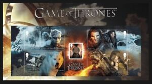 GB-2018-PRE-ISSUE-GAME-OF-THRONES-FILMS-SCI-FI-CHARACTER-STAMP-SHEET-MNH