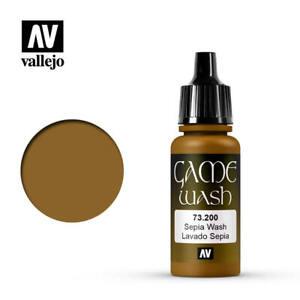 VALLEJO-GAME-COLOR-SEPIA-WASH-Cod-AV73200-LAVAGGIO