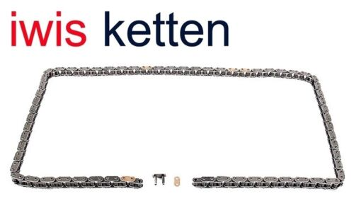 IWIS KETTEN GERMANY Engine Timing Chain WITH MASTERLINK 50025655G68WN12 9321837