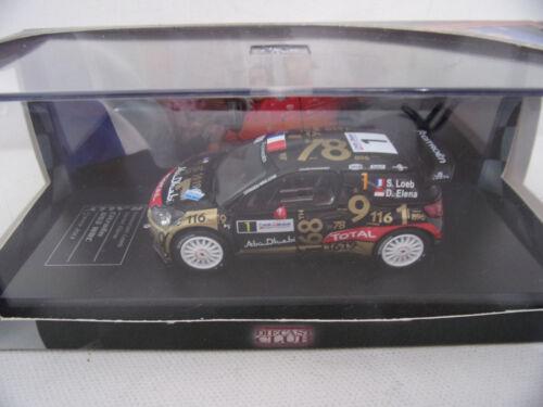 Citroen DS3 WRC Loeb rallye de France 2013 ds3 des records   ixo 1//43    15