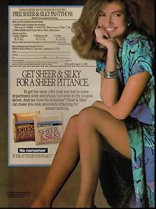 pantyhose ads Magazine
