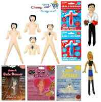 5FT INFLATABLE BLOW UP DOLL MALE & FEMALE FUN PRANK HEN & STAG NIGHT ADULT TOYZ