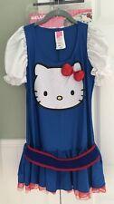 Hello Kitty Women's Costume  Women's Sz M  Halloween Rubie's  Dress