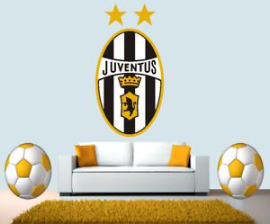 Juventus Italy Team Football Club Stadium FC Wall Sticker Poster Mural Decal