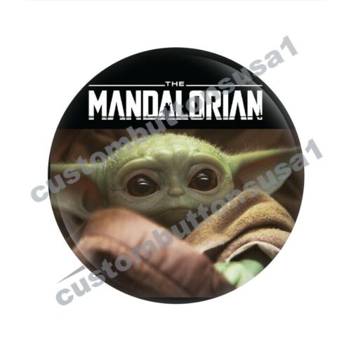 Baby Yoda bouton-Les Mandaloriens-DISNEY Star Wars Memorabilia Pinback