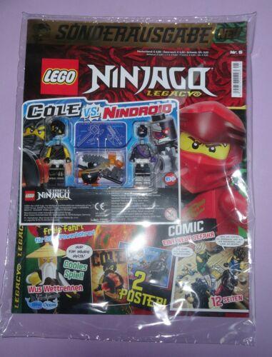 Nindroid Cole Vs LEGO MAGAZINE Ninjago LEGACY Nº 5