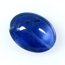 Echter Blauer Ovaler Saphir Cabochon 7x5mm