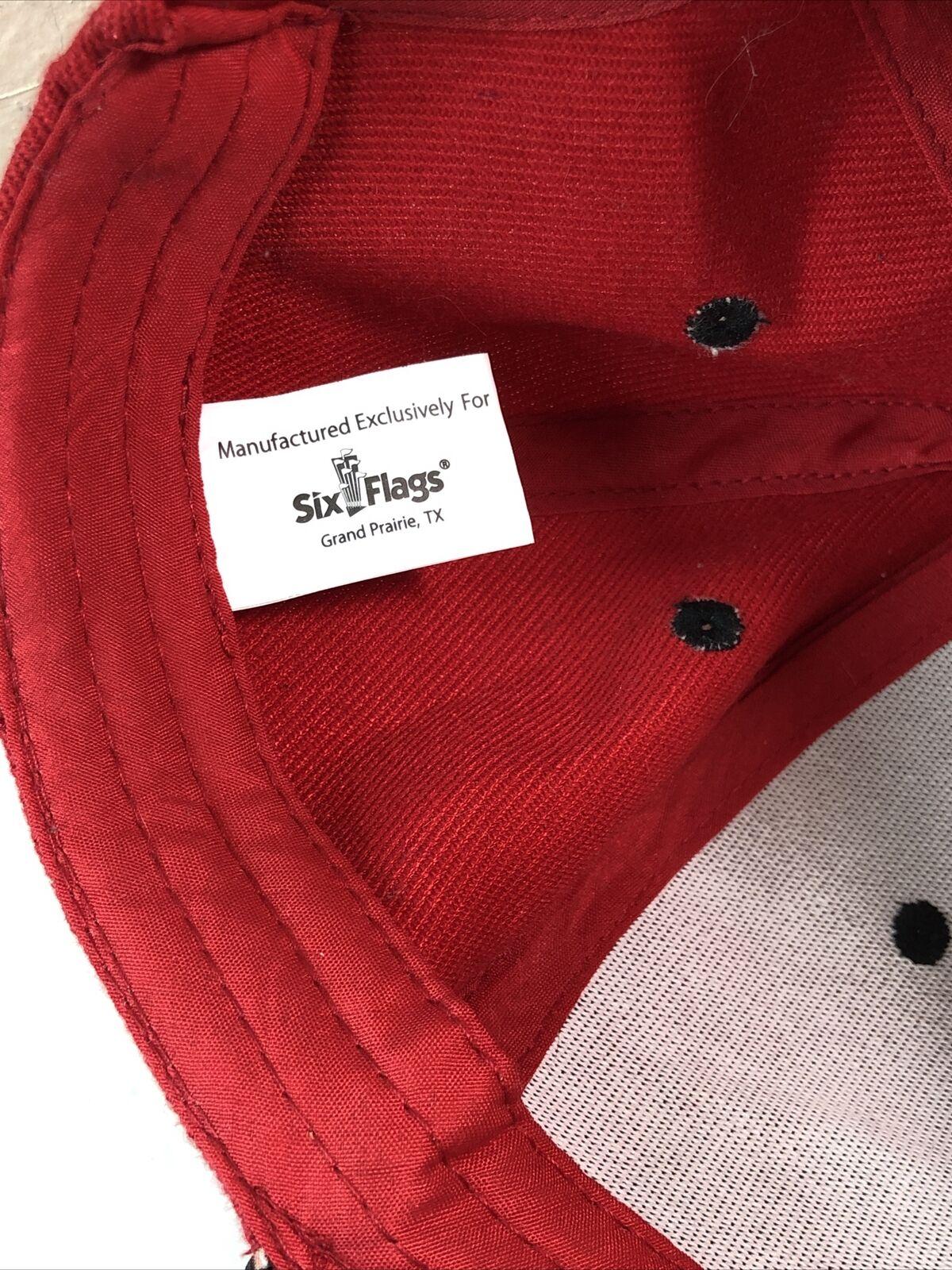 Harley Quinn Snapback Hat Cap Red - image 8