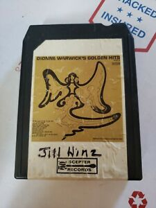 8 Track Tape Scepter TSPS 577 DIONNE WARWICK's Golden Hits Part II - TSPS 577