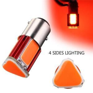 2X-1157-COB-LED-Car-Reverse-Backup-Tail-Stop-Brake-Light-Bulb-Lamp-12V-Red-Color