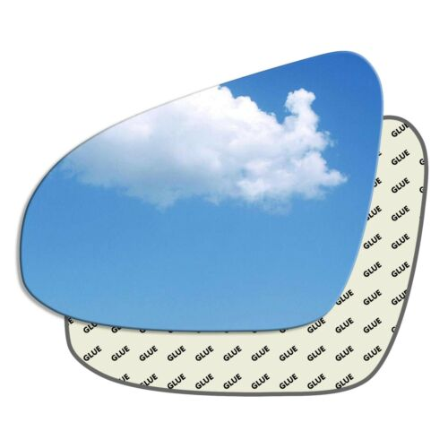 À Gauche Passager Côté Wing Mirror Glass TOYOTA Avensis Mk3 2015-2018 588LS