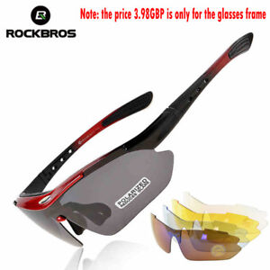 a18f2d42762 Image is loading ROCKBROS-Polarized-Sports-Sunglasses-Cycling-Glasses -Protection-Goggles-
