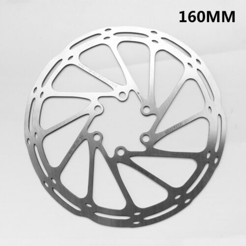 MTB Bike Bicycle 160 203mm  6 Bolts Rotors Stainless Steel Rotor Disc 180
