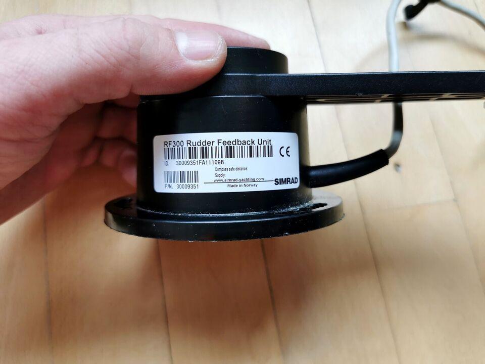 Simrad RF300 rorføler har en høj nøjagtighed, s...