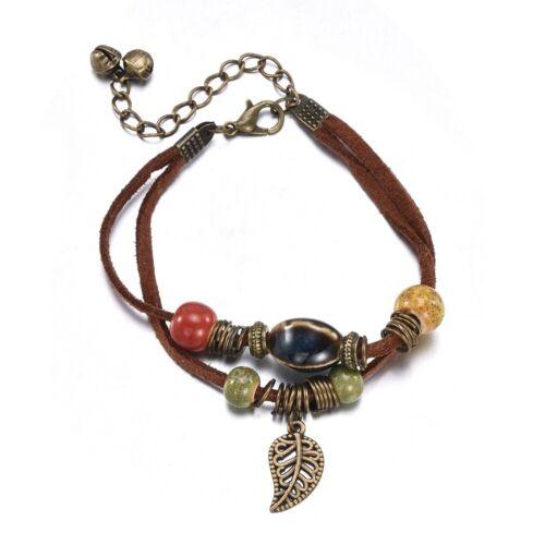 Fashion Women Alloy Crystal Chain Bracelet Bangle Wristband Jewelry Set Gifts