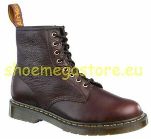 Image is loading Dr-Martens-8-Hole-1460-Brown-Inuck-11822212-