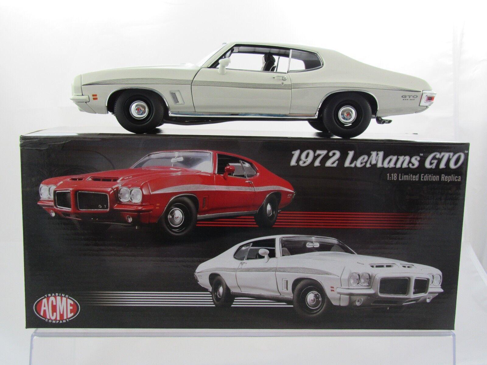 Acme 1972 Pontiac LeMans GTO in bianca A1801211