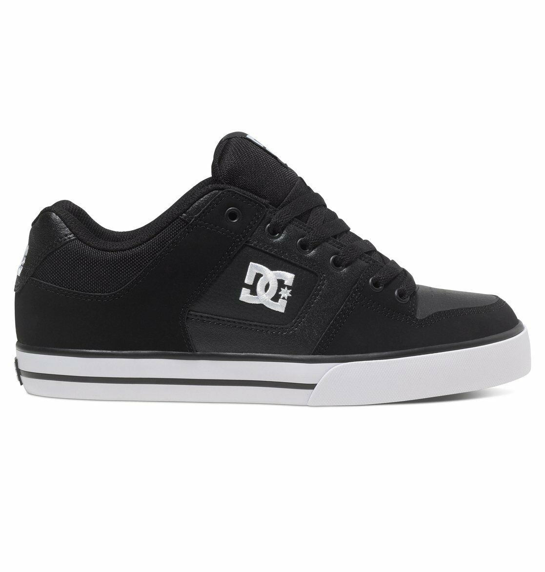 DC PURE FAST BLACK/BLACK/WHITE(BLW) MEN'S Shoes 300660 FAST PURE SHIPPING 3c6d55