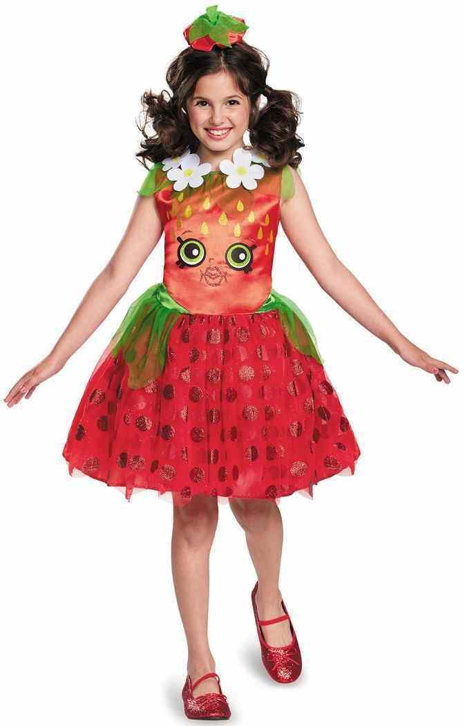 Shopkins Strawberry Kiss Costume