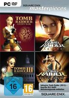 Pc Computer Spiel Tomb Raider Quadrology 2 + 3 + Legend + Anniversary Neunew