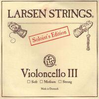 Larsen Soloist 4/4 Cello D String: Strong Gauge