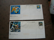FRANCE - 2 enveloppes entier (cy25) french