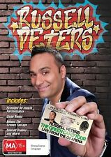 Russell Peters - Green Card Tour Live From O2 Arena (DVD, 2011) New  Region 4