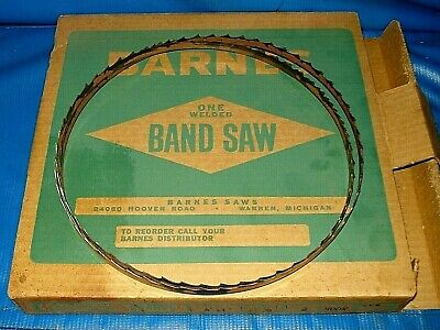 """Disston Carbon Steel Welded Band Saw Blade 12/' 6/"""" Blade Length 10 TPI E1819"""