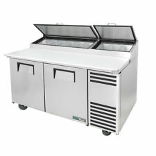 True Refrigeration Tpp At 67 Hc 67 Pizza Prep Table With Refrigerated Base 115v