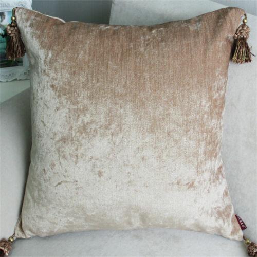 Luxe Housse De Coussin Taie d/'oreiller textiles Pendentif lombaire Oreiller De Cou Oreiller Siège