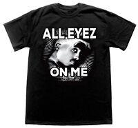 2pac All Eyes Thug Life Tupac Street Legend Goat Rap Hip Hop Cheap Tshirt