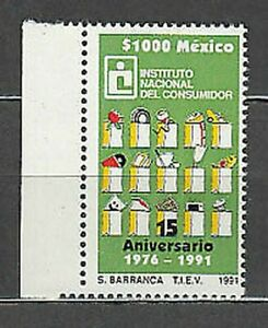 Mexico - Mail 1990 Yvert 1352 MNH